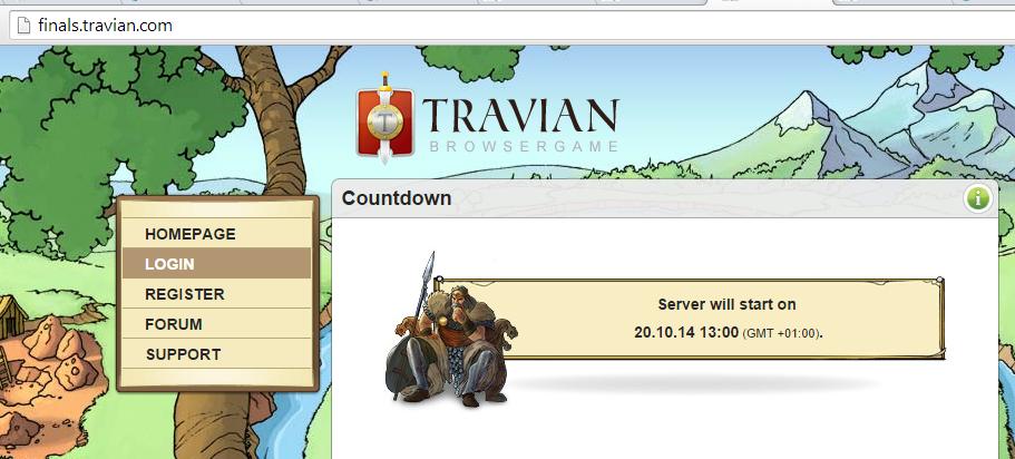 Se modifica la fecha de inicio del server